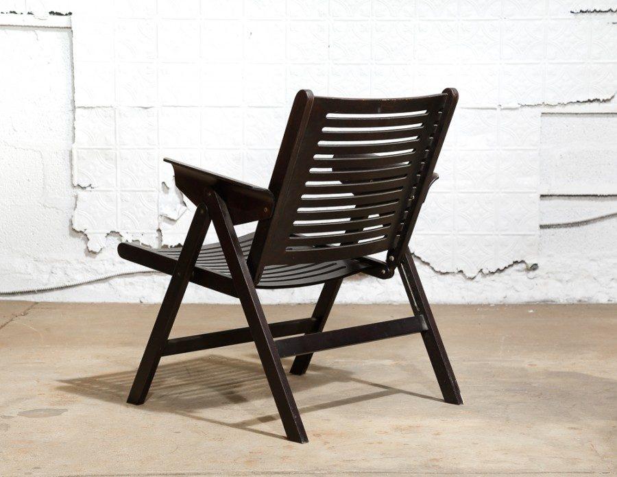 Sensational Rex Folding Chairs By Niko Kralj Van Der Most Modern Andrewgaddart Wooden Chair Designs For Living Room Andrewgaddartcom